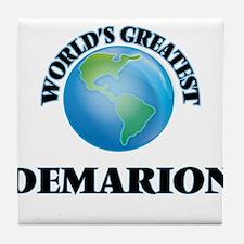 World's Greatest Demarion Tile Coaster