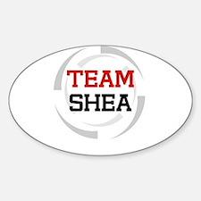 Shea Oval Decal