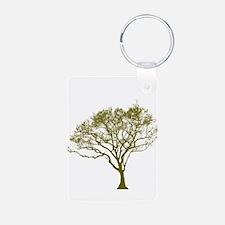Green Tree Keychains