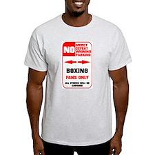 NO PARKING Boxing T-Shirt