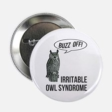 "Irritable Owl Syndrome 2.25"" Button"