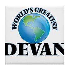 World's Greatest Devan Tile Coaster