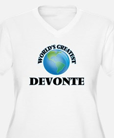 World's Greatest Devonte Plus Size T-Shirt