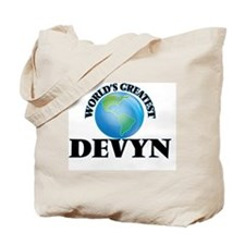World's Greatest Devyn Tote Bag
