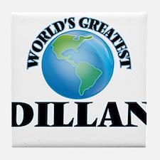 World's Greatest Dillan Tile Coaster