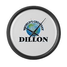 World's Greatest Dillon Large Wall Clock