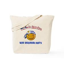 Uruguayan American Tote Bag