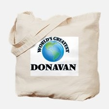World's Greatest Donavan Tote Bag