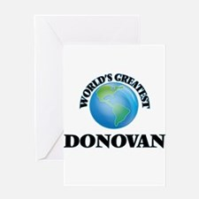 World's Greatest Donovan Greeting Cards