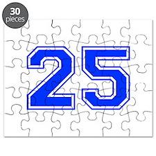25-var red Puzzle