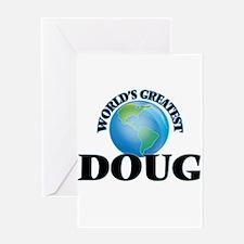 World's Greatest Doug Greeting Cards