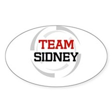 Sidney Oval Decal