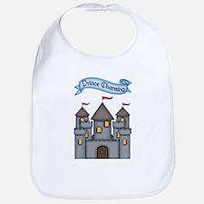 Cute Dragon castle Bib