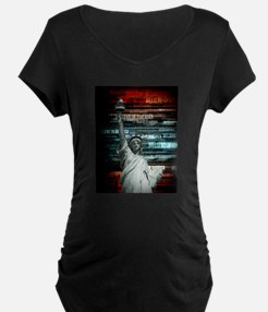 Believe In Liberty Maternity T-Shirt