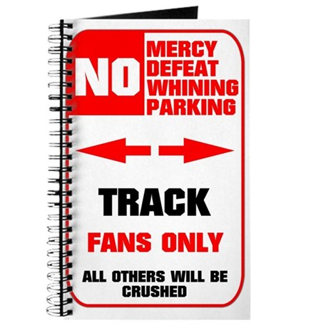 NO PARKING Track Journal