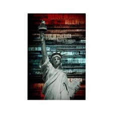 Believe In Liberty Magnets