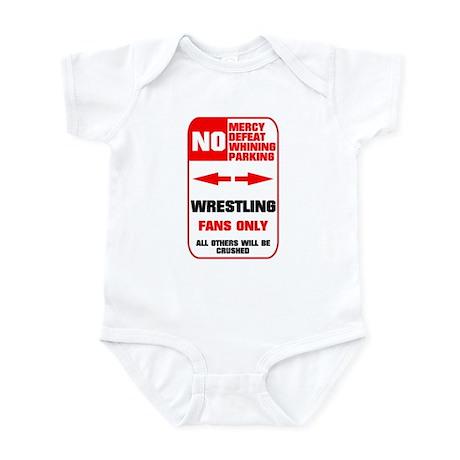 NO PARKING Wrestling Infant Bodysuit