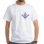 The Masonic G White T-Shirt