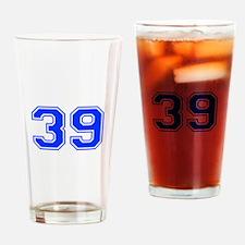 39-var red Drinking Glass