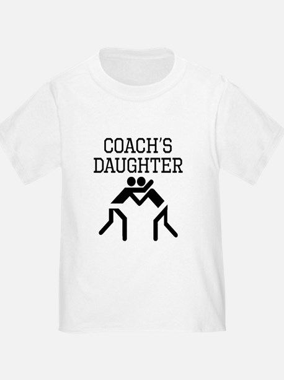 Wrestling Coachs Daughter T-Shirt