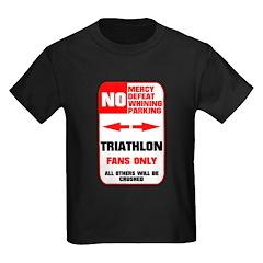 NO PARKING Triathlon Sign T