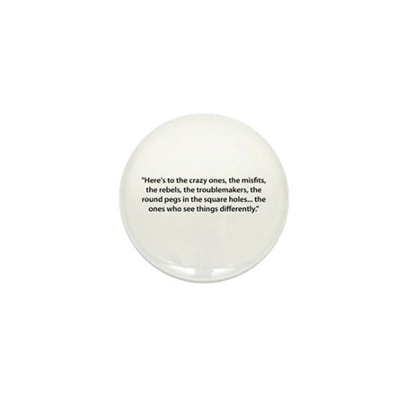 To the Misfits Mini Button (10 pack)