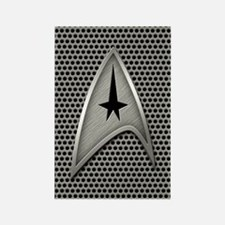Star Trek Insignia Metal Grill Rectangle Magnet