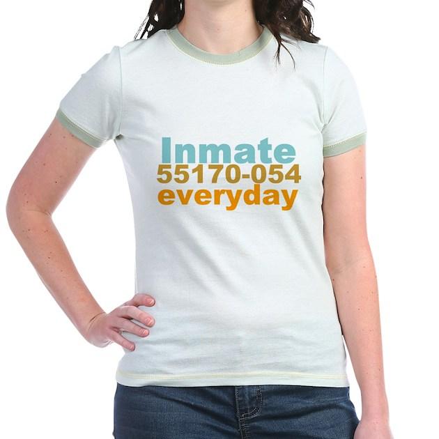 Martha Stewart Inmate Living Shir Jr Ringer T Shirt