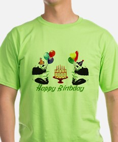 Birthday Pandas T-Shirt