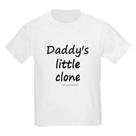 Dadddy's Little Clone Kids Light T-Shirt