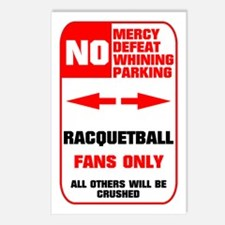 NO PARKING Racquetball Postcards (Package of 8)