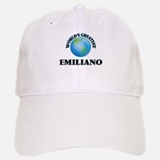 World's Greatest Emiliano Baseball Baseball Cap