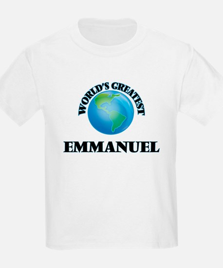 World's Greatest Emmanuel T-Shirt