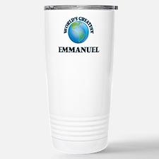 World's Greatest Emmanu Travel Mug