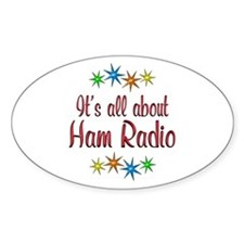 About Ham Radio Decal