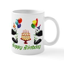 Birthday Pandas Small Mug