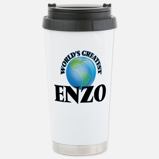 World's Greatest Enzo Stainless Steel Travel Mug