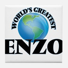 World's Greatest Enzo Tile Coaster
