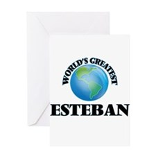 World's Greatest Esteban Greeting Cards