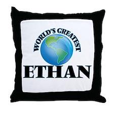 World's Greatest Ethan Throw Pillow
