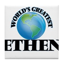 World's Greatest Ethen Tile Coaster