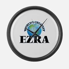 World's Greatest Ezra Large Wall Clock