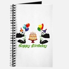 Birthday Pandas Journal