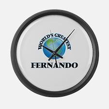 World's Greatest Fernando Large Wall Clock