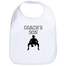 Baseball Coachs Son Bib