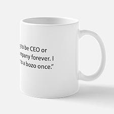 CEO til the End Mug