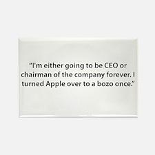 CEO til the End Rectangle Magnet
