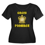 Fathers Day Grand Poohbah Women's Plus Size Scoop