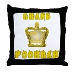 Fathers Day Grand Poohbah Throw Pillow