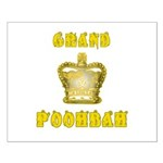 Fathers Day Grand Poohbah Small Poster